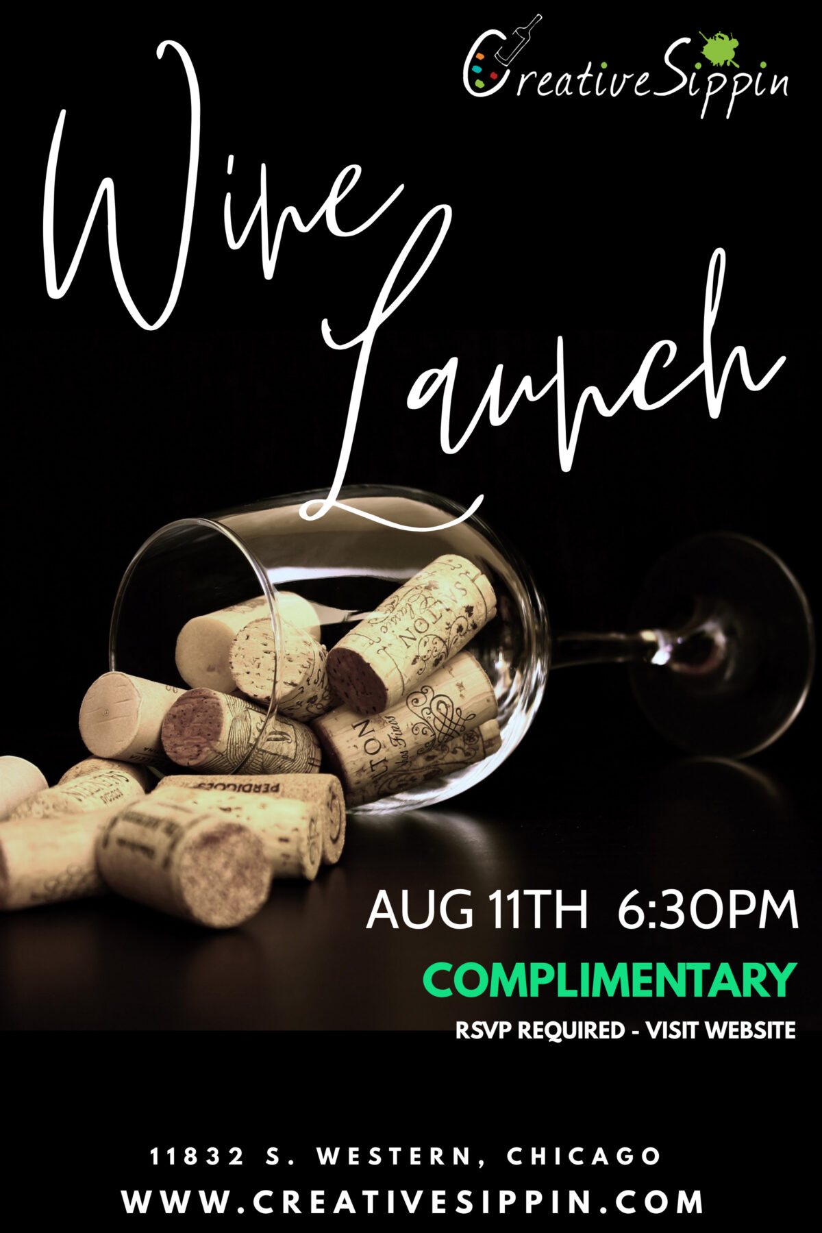 Creative Sippin Wine Launch